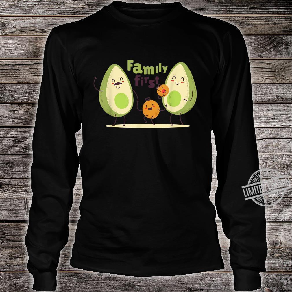 Guac Pun Avocado Parody Family First Shirt long sleeved
