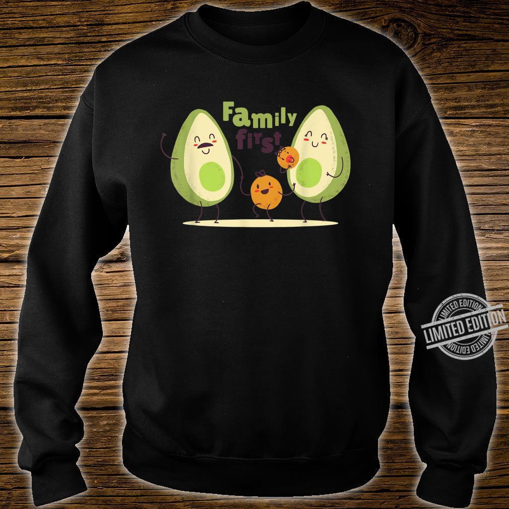 Guac Pun Avocado Parody Family First Shirt sweater