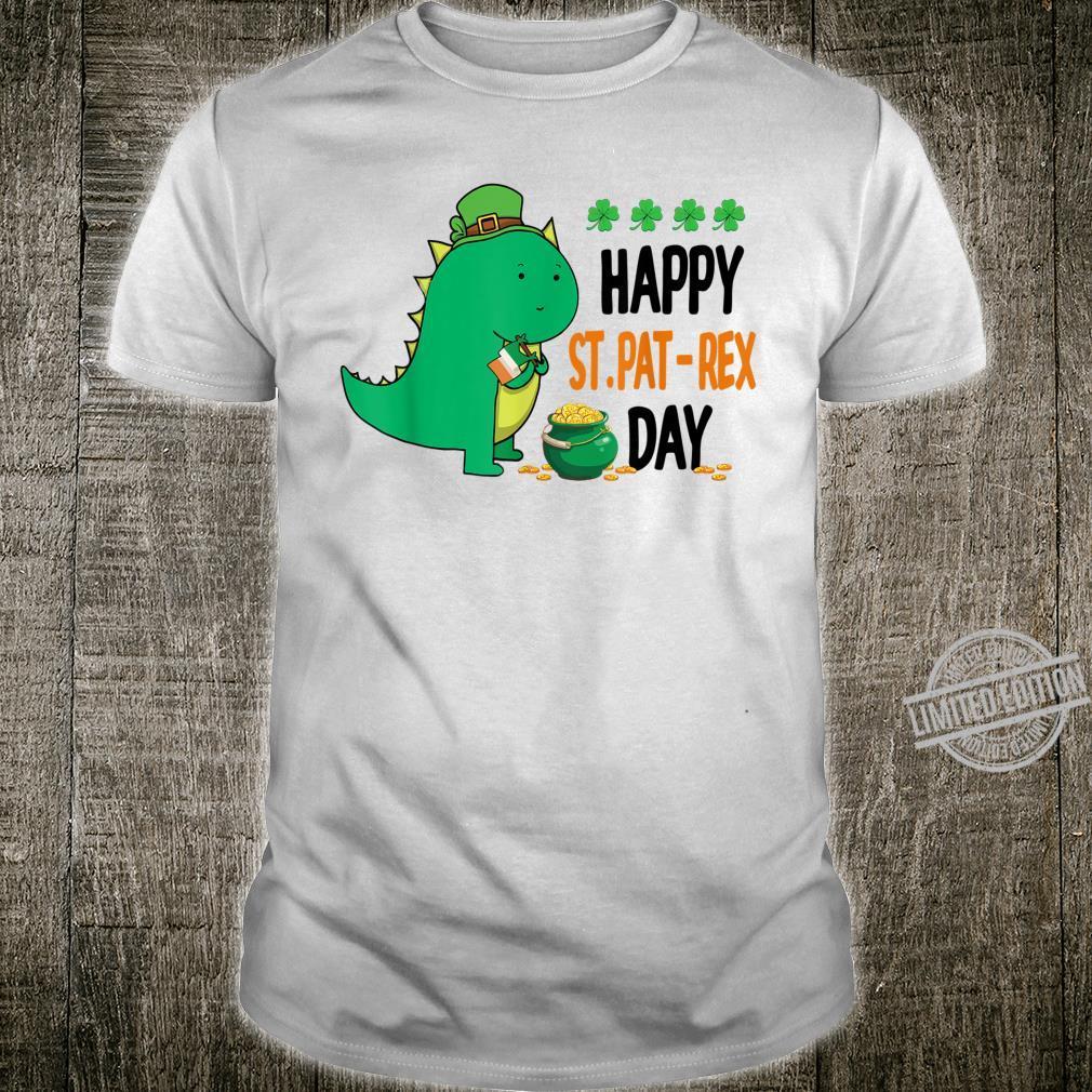 Happy St PatRex Day T Rex Dinosaur St Patrick's Day Shirt