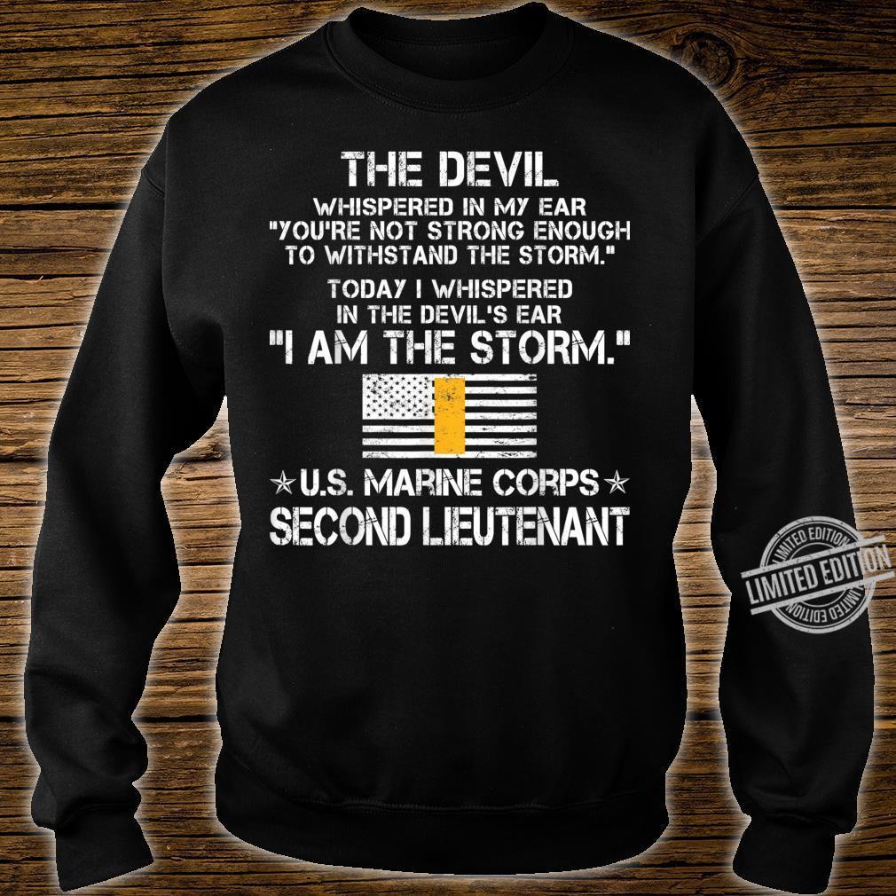 I Am The Storm US O1 Second Lieutenant Ranks Shirt sweater
