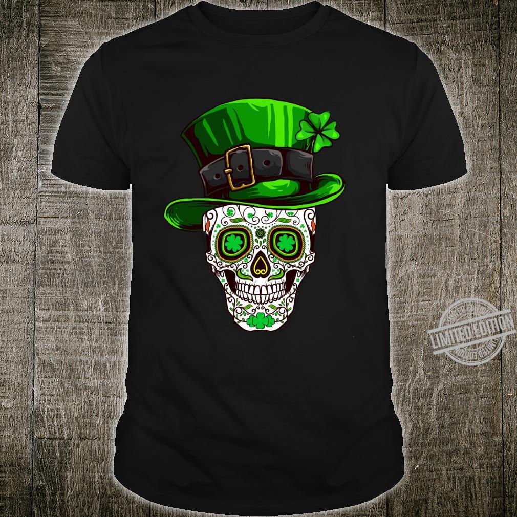 Irish Costume Sugar Skull Shirt St Patricks Day of Dead Shirt