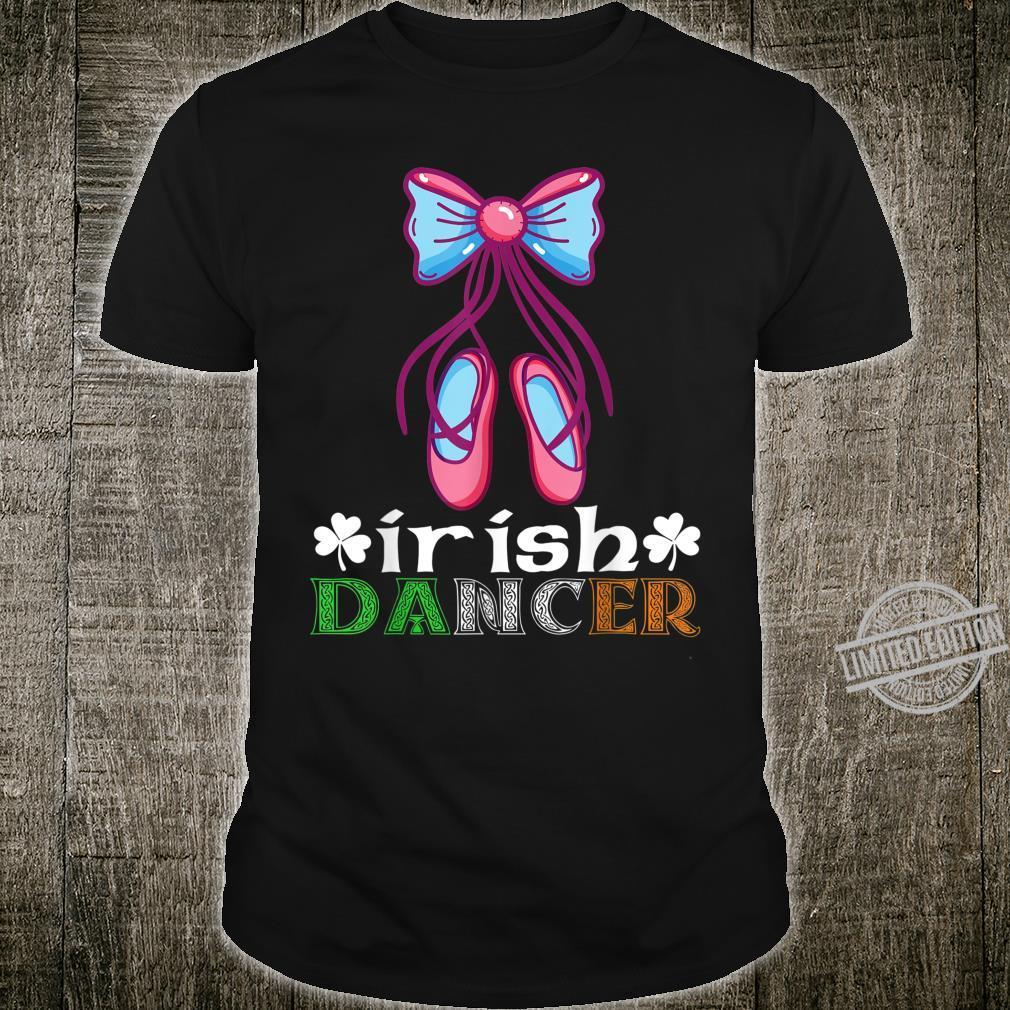 Irish Dance Ballet Dancer Happy St Patricks Day Dancing Shirt