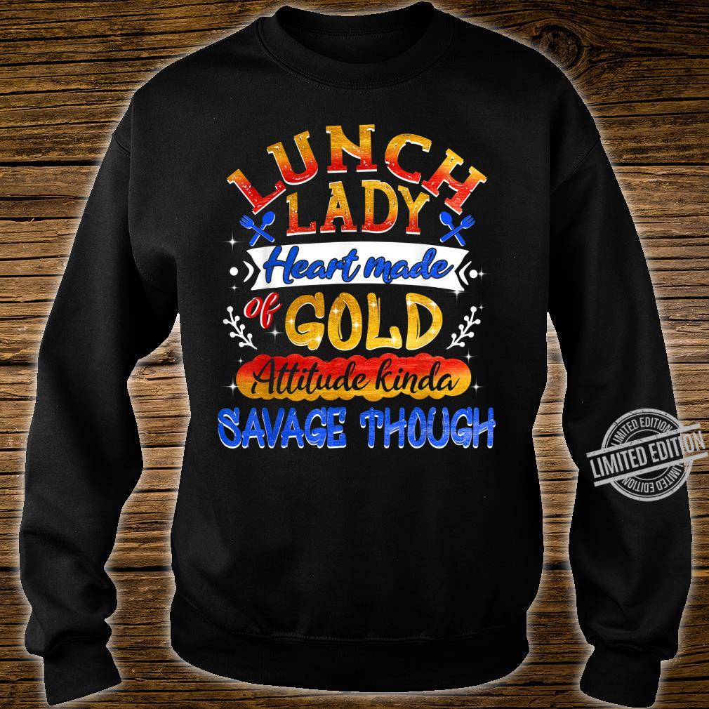 Lunch Lady Heart Made Of Gold Shirt sweater