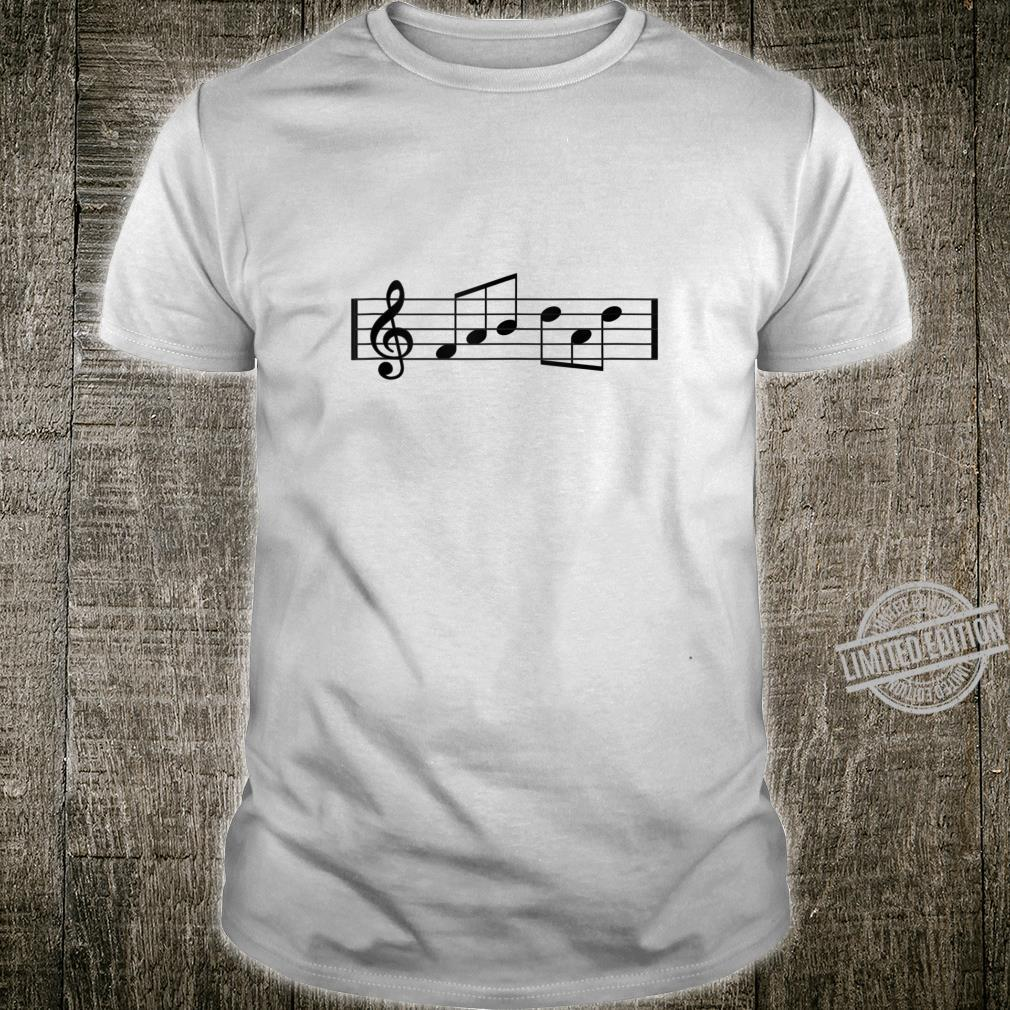 Mens Treble Clef Fab Dad Music Notes Fabulous Fathers Day Shirt