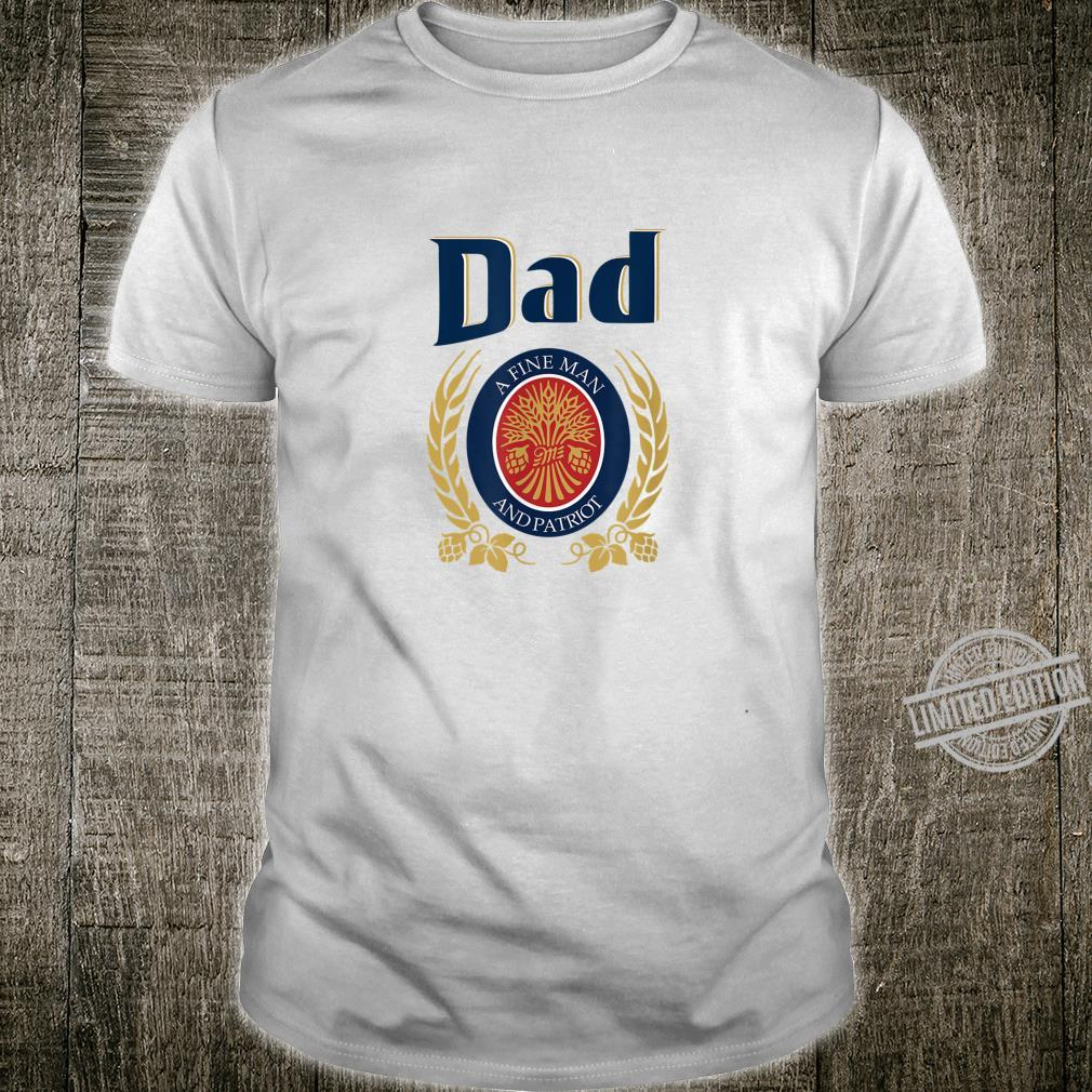 Miller Dad Fathers Day For Beers Shirt