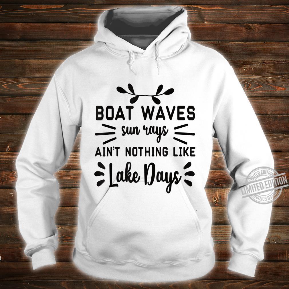 Motorboot Zubehör Motorboot Shirt hoodie