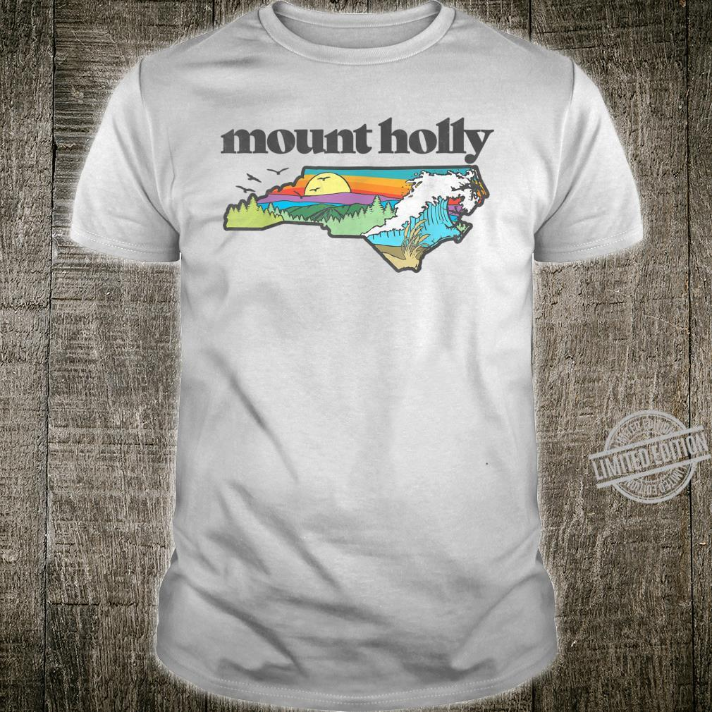 Mount Holly North Carolina Outdoors Retro Nature Shirt