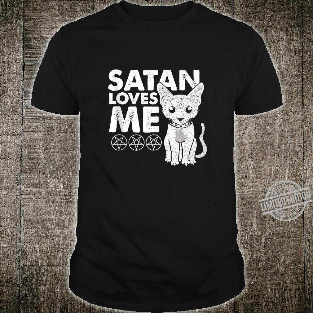 Not Today Jesus Cat Lucifer Shirt
