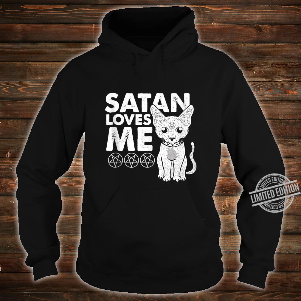 Not Today Jesus Cat Lucifer Shirt hoodie