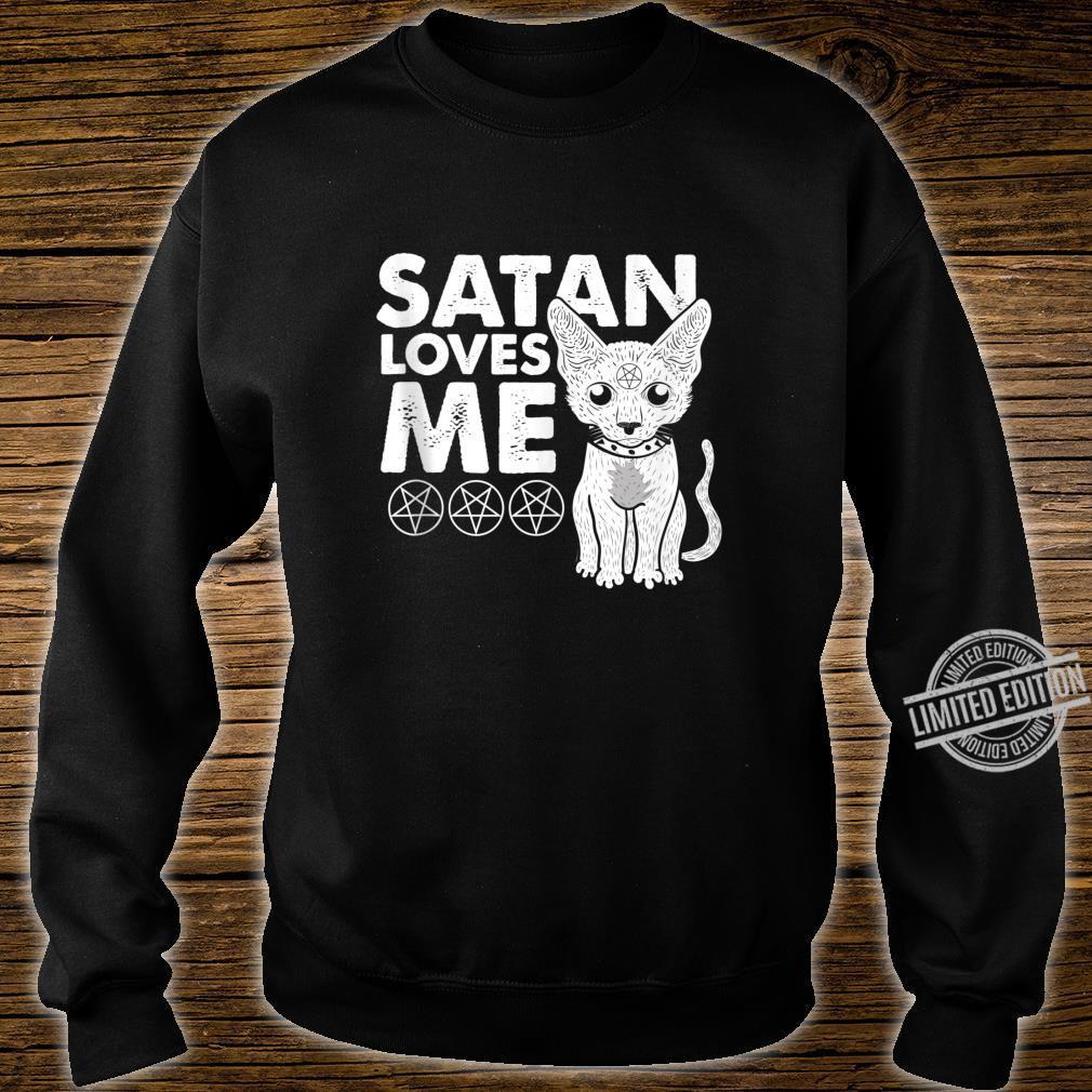 Not Today Jesus Cat Lucifer Shirt sweater