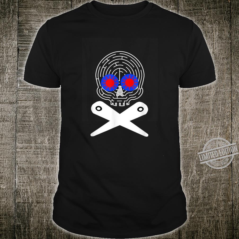 Pinball Skull Flipper Skeleton Arcade Game Flipping Machine Shirt
