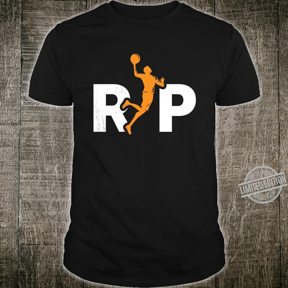 Rip Basketball Legend Basketball Player Shirt