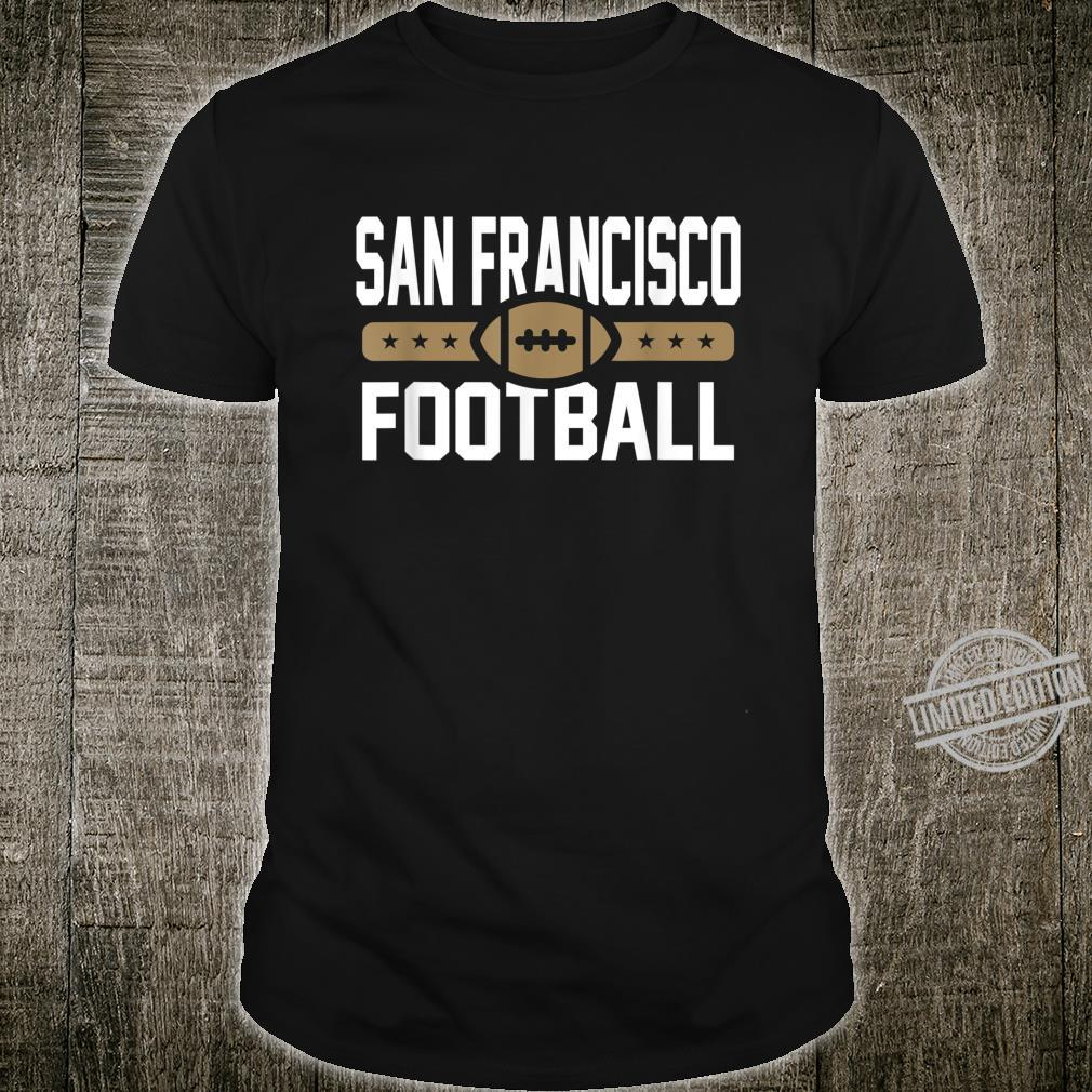 San Francisco Football Goalline Shirt