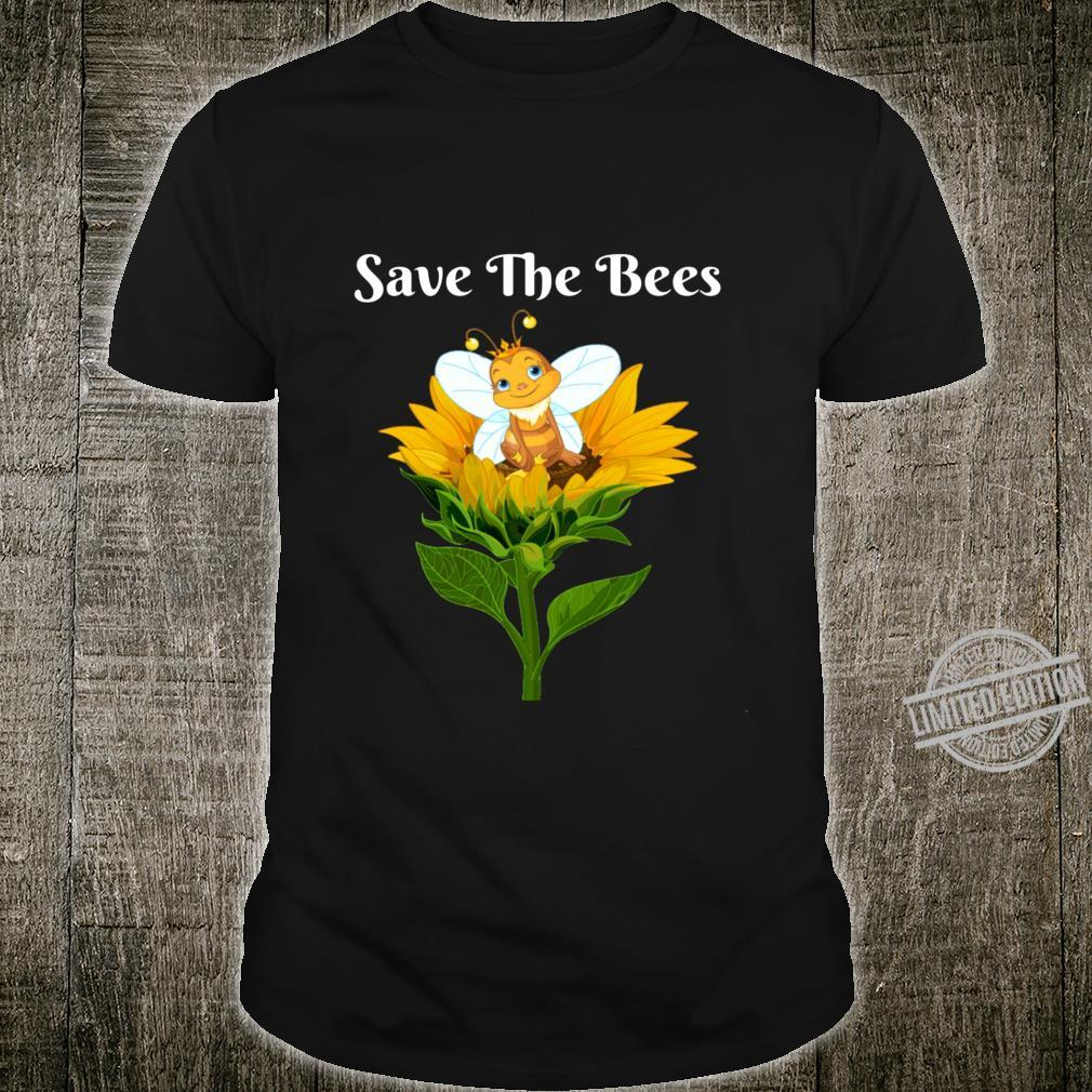 Save The Bees Sunflower Beekeepers Shirt