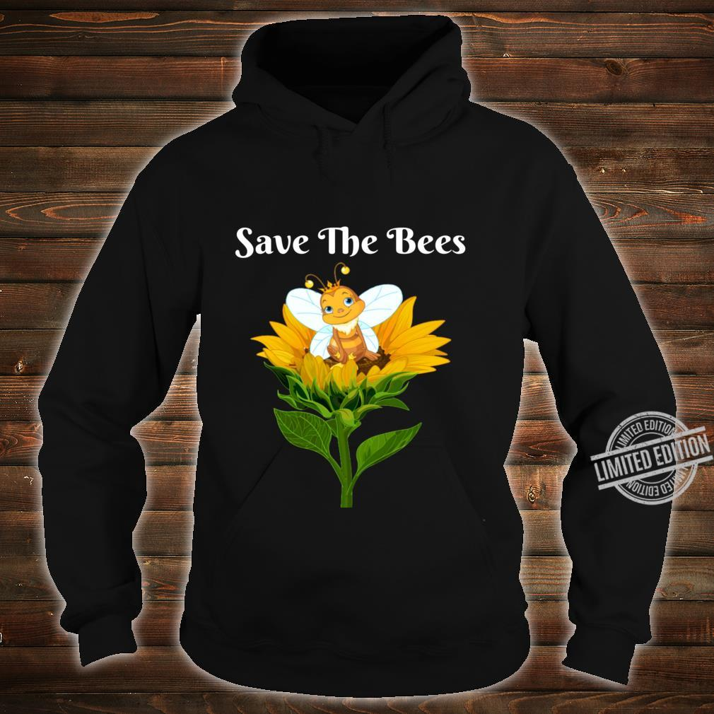 Save The Bees Sunflower Beekeepers Shirt hoodie