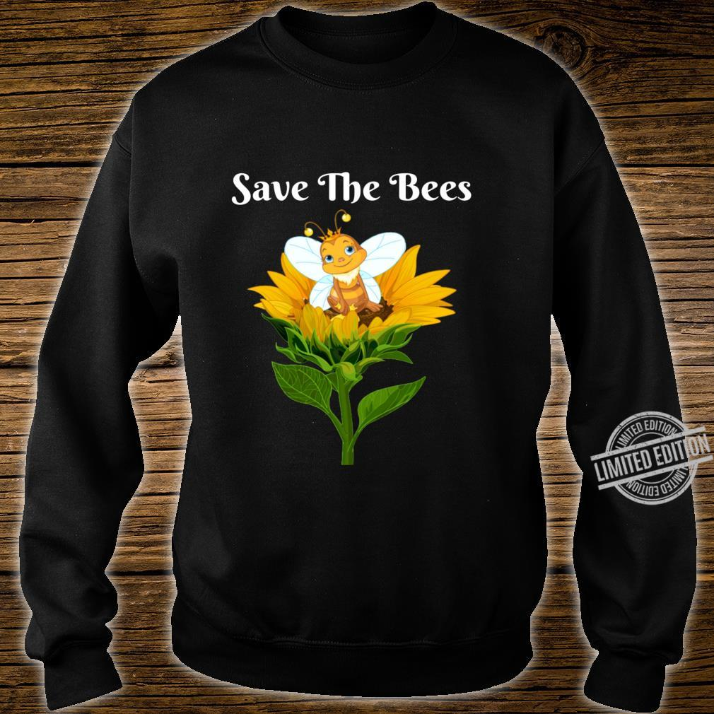 Save The Bees Sunflower Beekeepers Shirt sweater