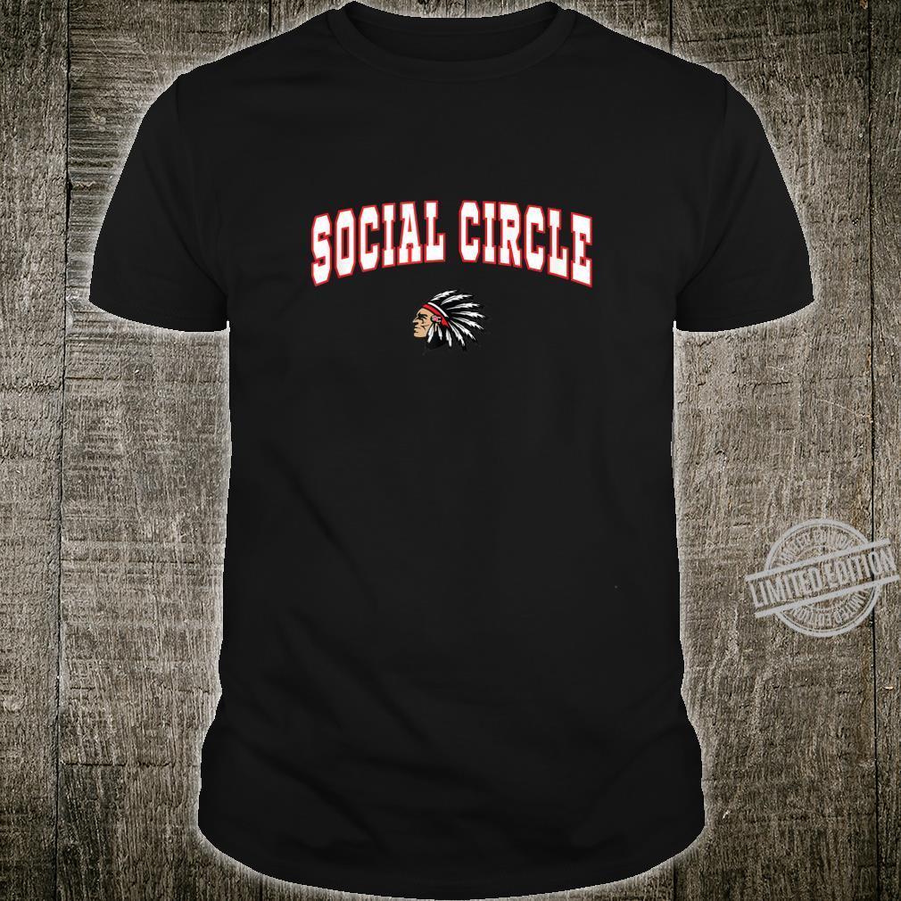 Social Circle High School Redskins Shirt