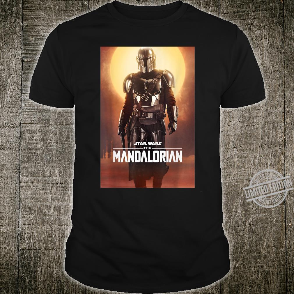 Star Wars The Mandalorian Character Poster Shirt