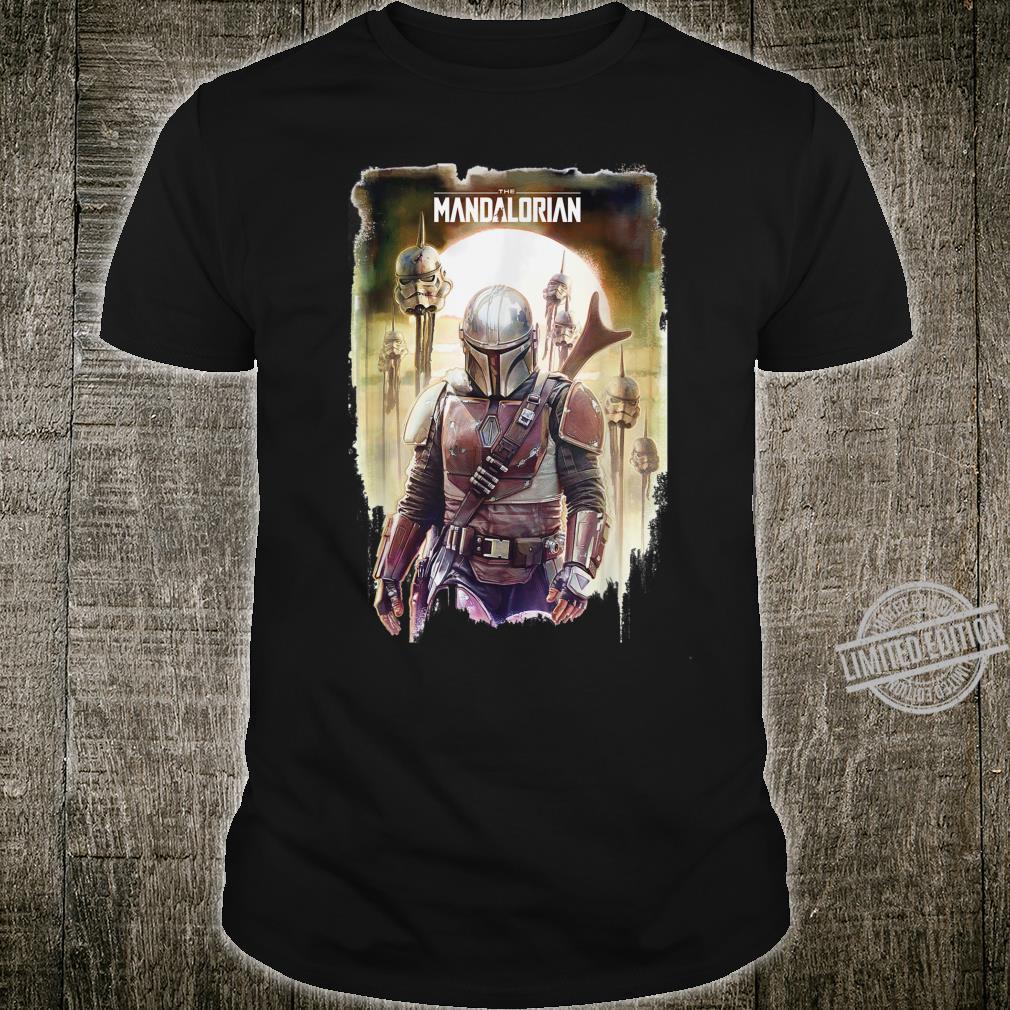 Star Wars The Mandalorian Conquer Poster Shirt