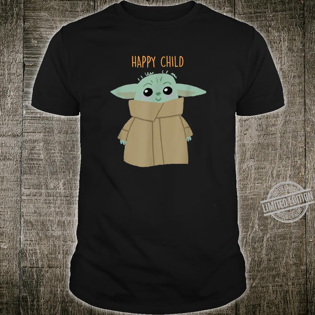 Star Wars The Mandalorian Happy Child Shirt