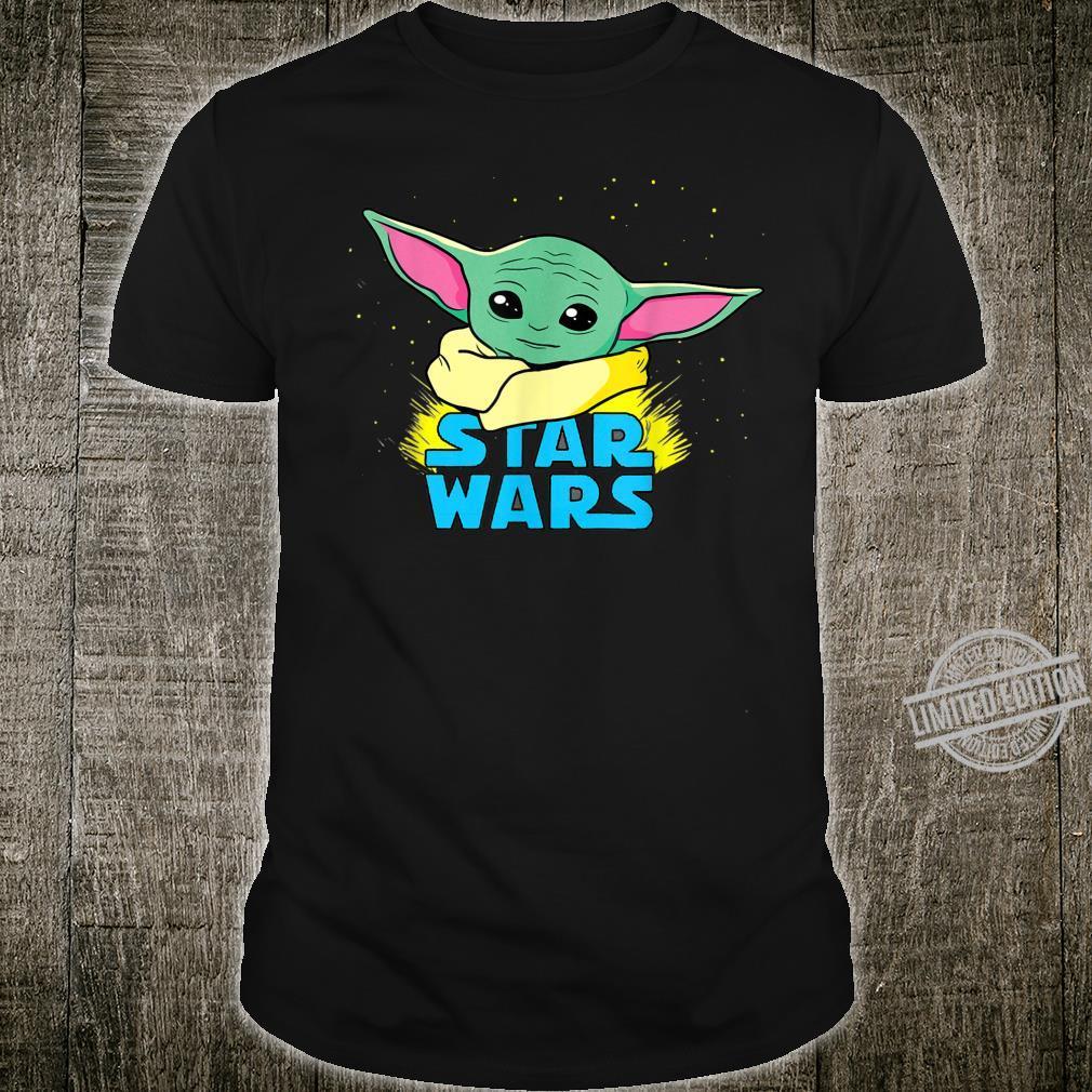 Star Wars The Mandalorian The Child Comic Book Illustration Shirt