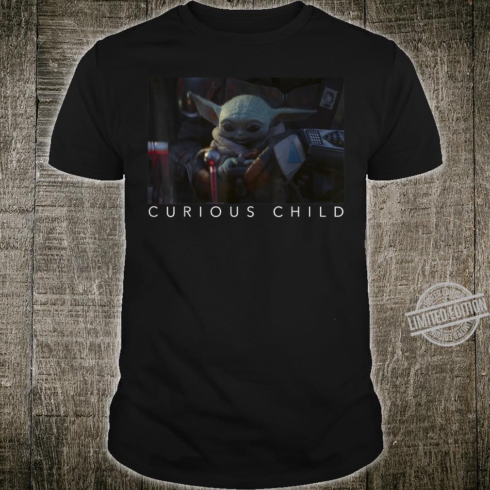 Star Wars The Mandalorian The Child Curious Child Shirt