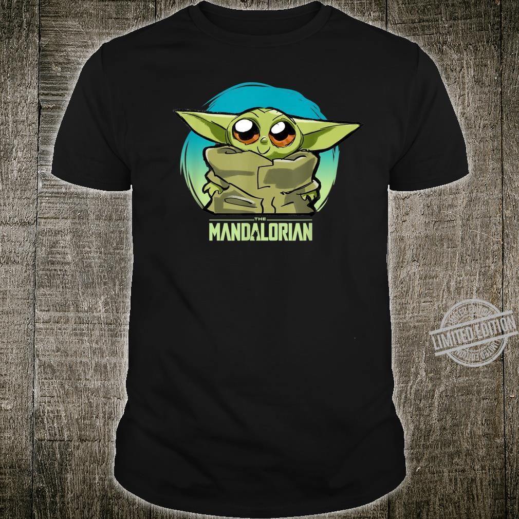 Star Wars The Mandalorian The Child Cute Blue Hue Shirt