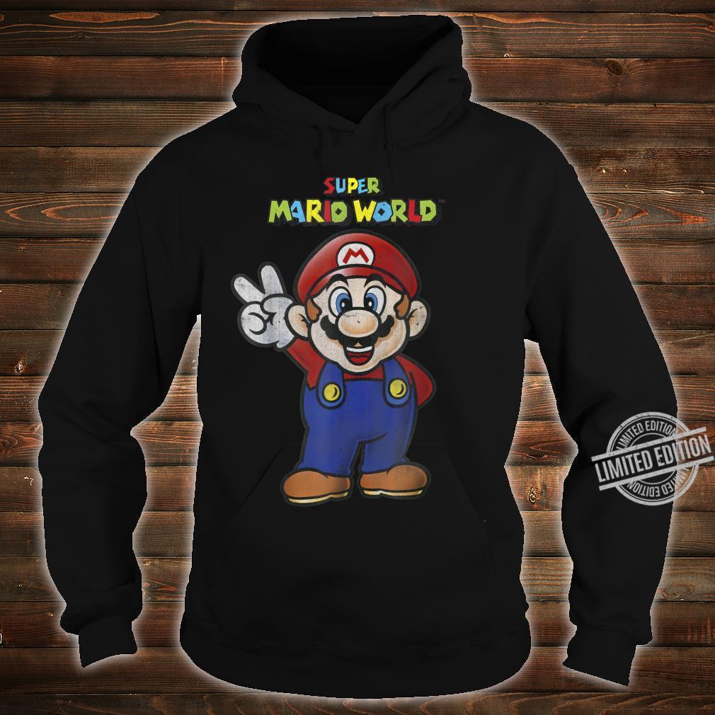 Super Mario World Mario Peace Shirt hoodie