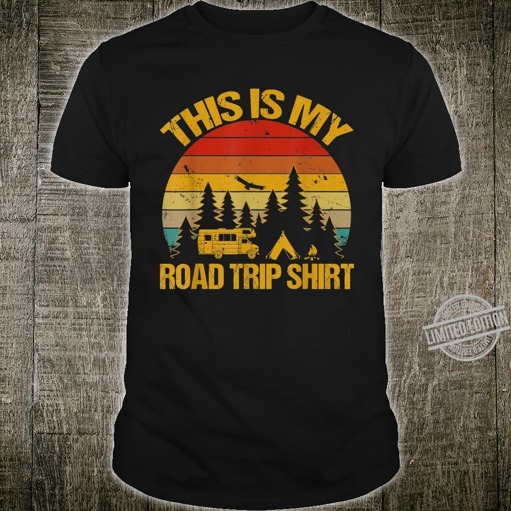 This Is My Road Trip Shirt RV Camping Camper Shirt