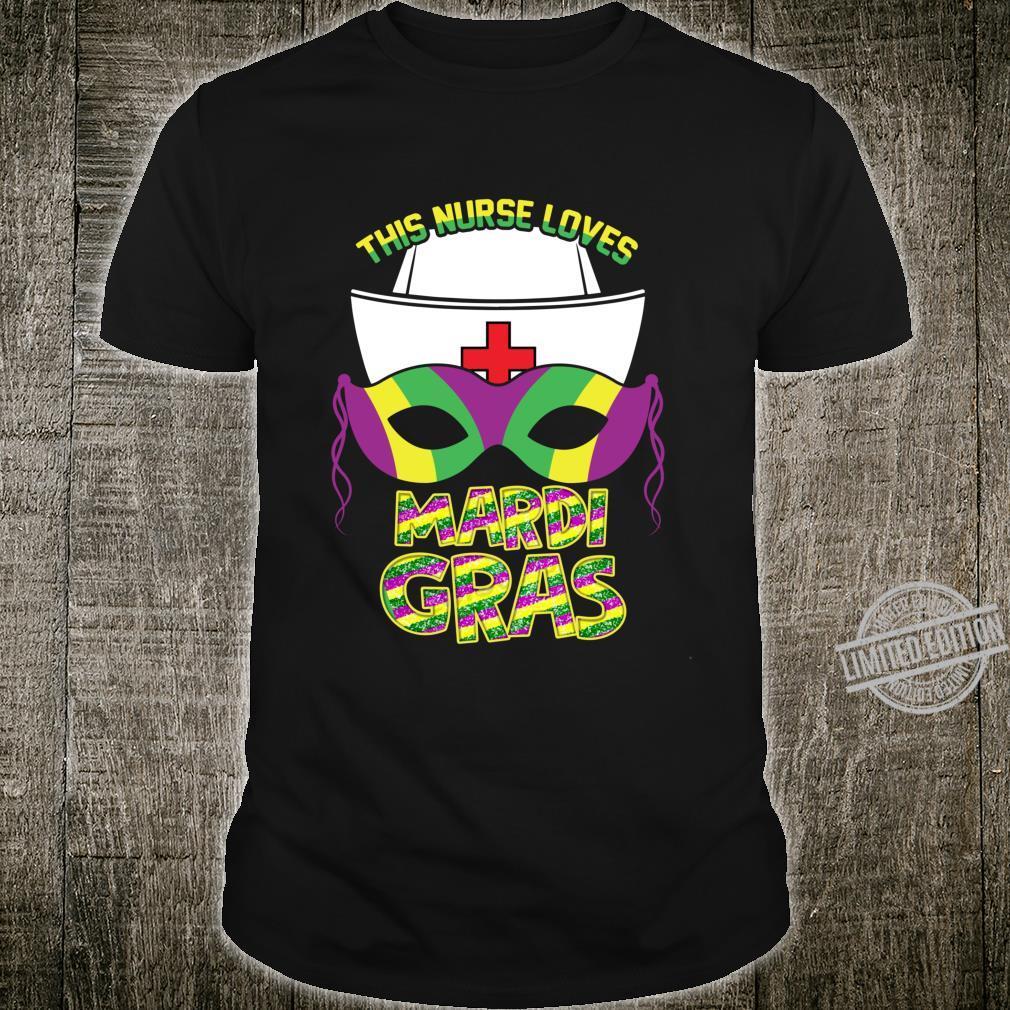 This Nurse Loves Mardi Gras It's Mardi Gral Y'all 2020 Shirt