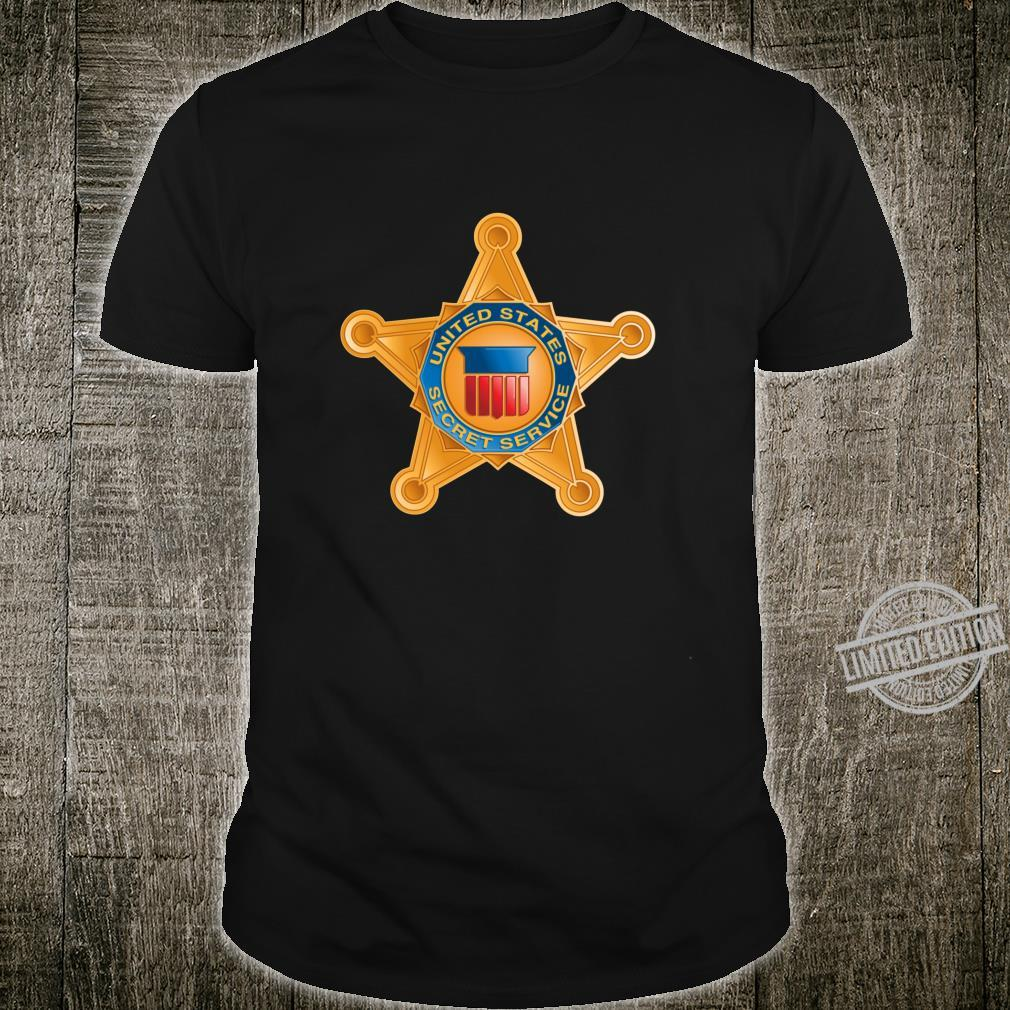 United States Secret Service Badge USSS President Security Shirt