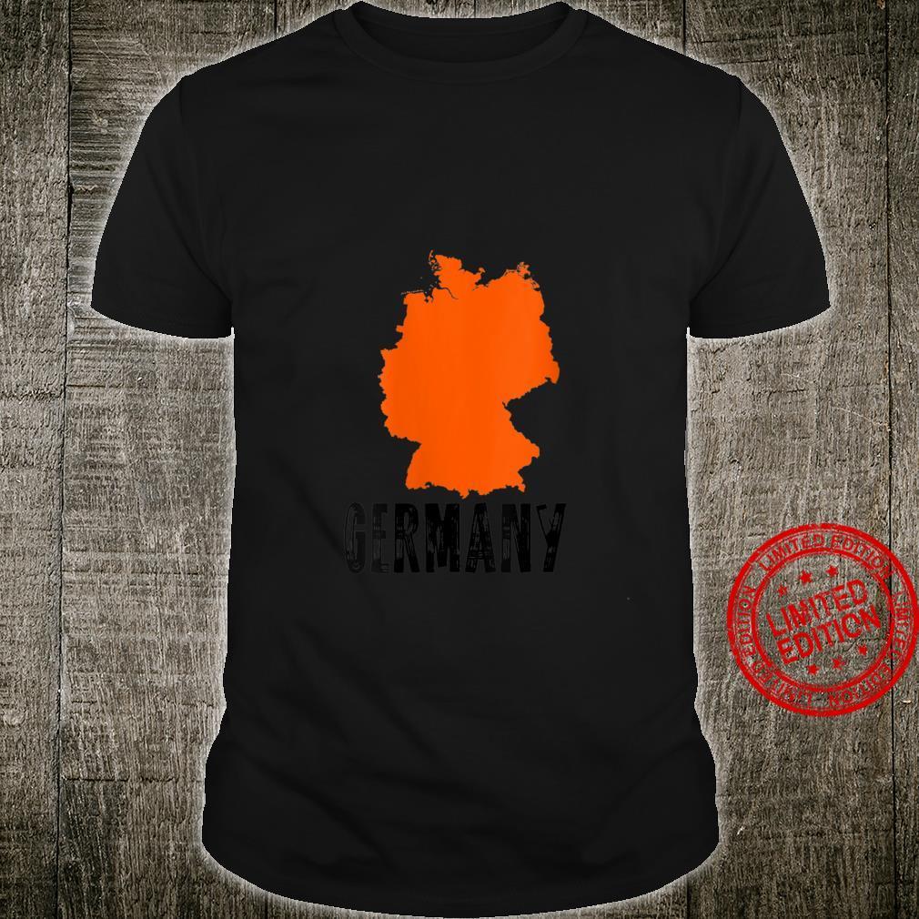 Womens GERMANY Home State I Love GERMANY Vintage Shirt