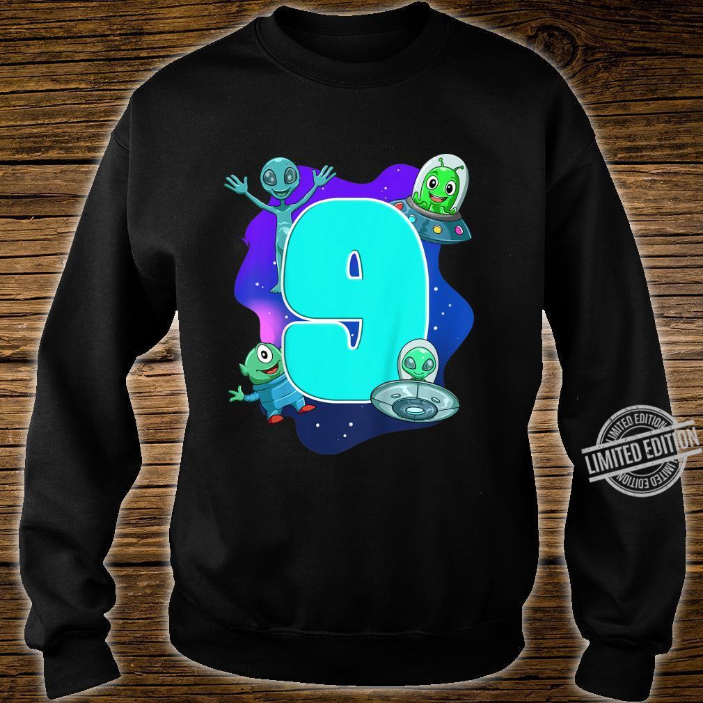 Youth Children's Birthday Alien And Ufo Shirt sweater