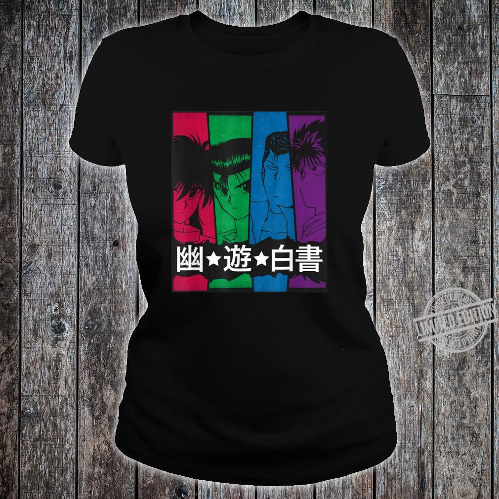 Yuyu Cools Anime Hakusho Shirt ladies tee