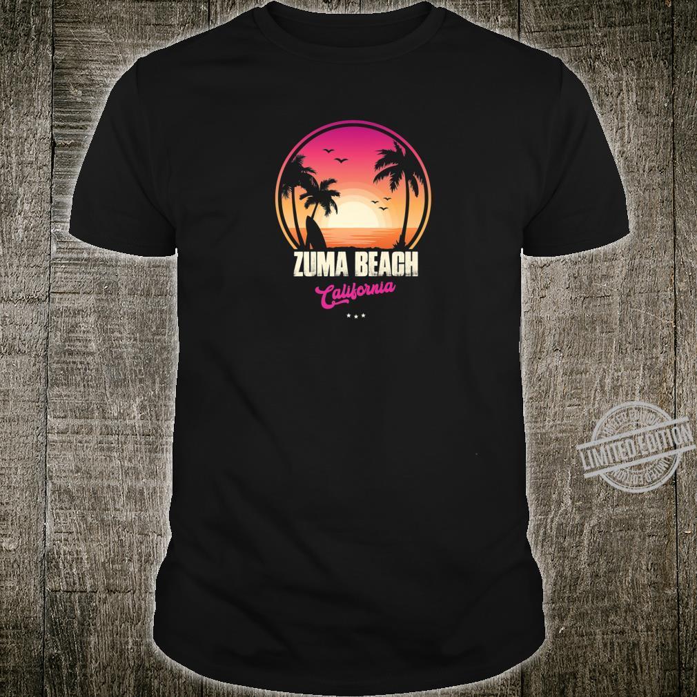 Zuma Beach Souvenir California Reminder Shirt